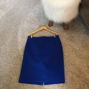 Jcrew pencil wool skirt